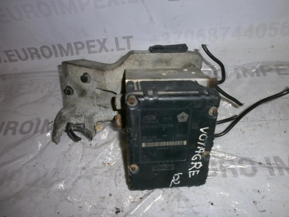 ABS blokas 04686702AAC 25094601973  Chrysler VOYAGER 2001 2.5