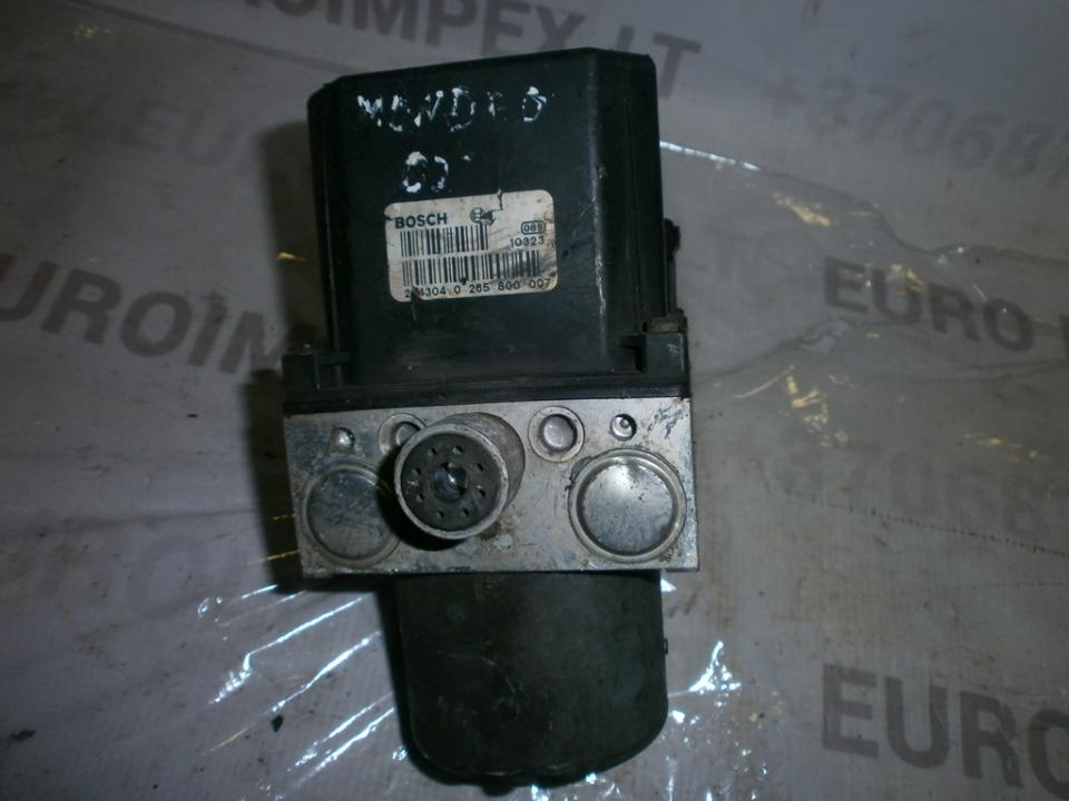 ABS blokas 0265800007 0265222015, 1S712M110AE Ford MONDEO 2002 2.0