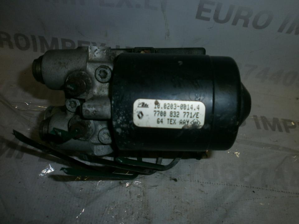 Блока АБС 7700832771E 10020300144  Renault MEGANE SCENIC 1997 1.6