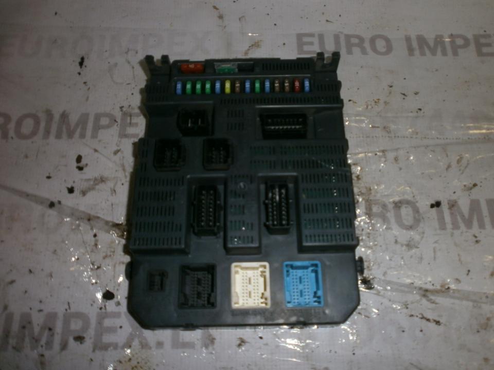 9663798380 T3 Komforto blokas Citroen C2 2007 1.6L 101EUR EIS00006209