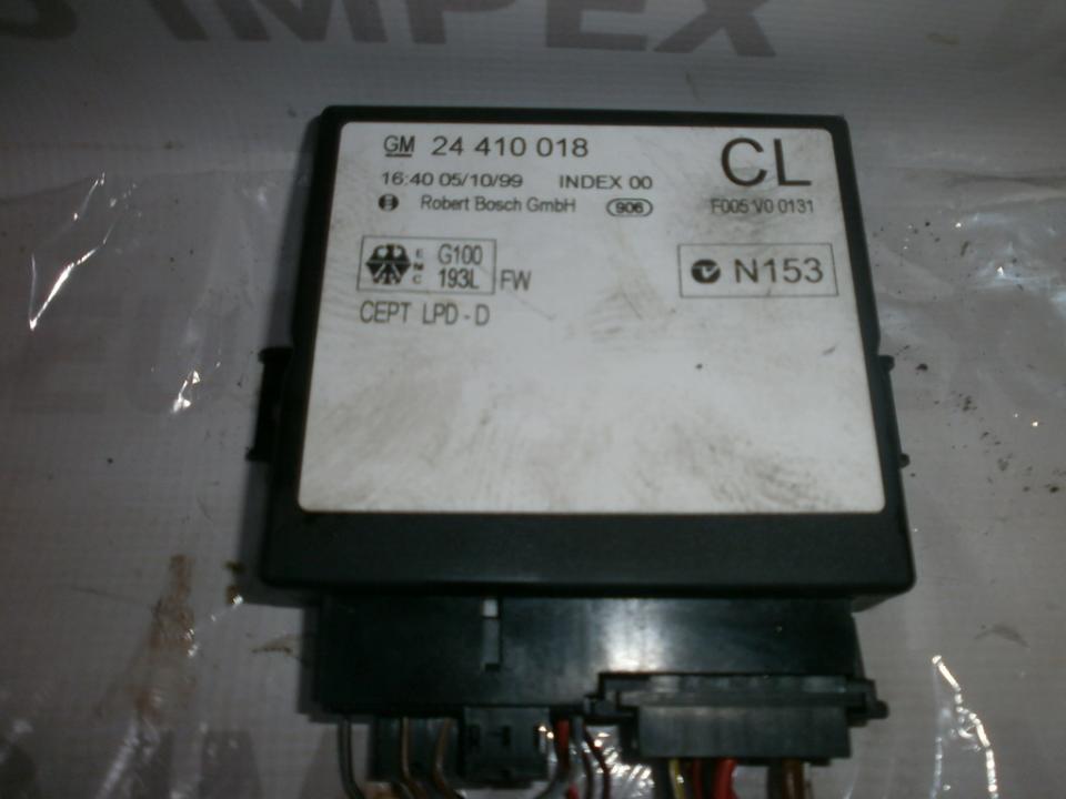 Kiti kompiuteriai 24410018cl  Opel ZAFIRA 2002 2.2