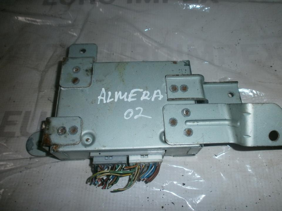 Другие компьютеры NENUSTATYTA  Nissan ALMERA 1995 1.6