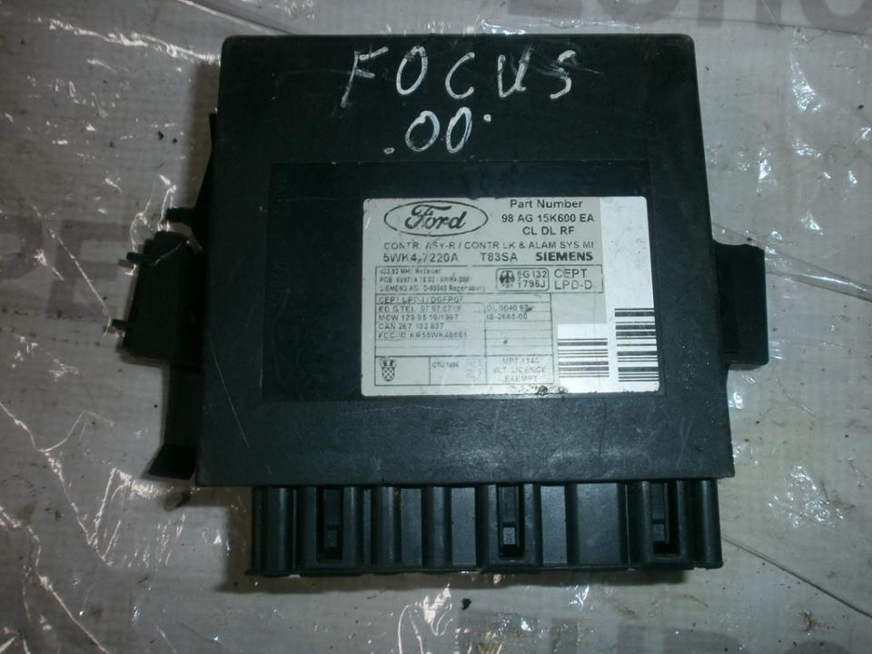 Komforto blokas 98ag15k600ea 5WK47220A  Ford FOCUS 2004 1.8