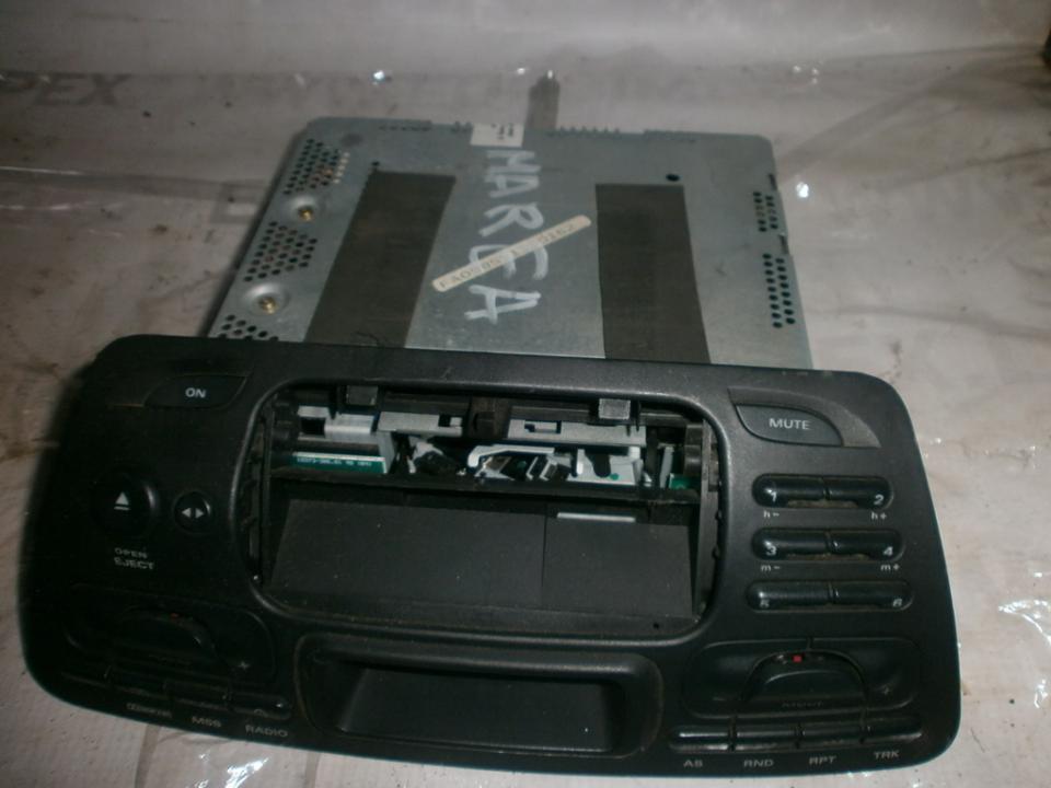 Automagnetola 718978614  Fiat MAREA 1999 1.9
