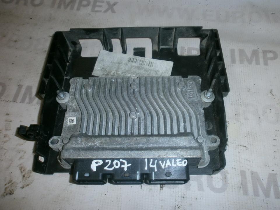 Variklio kompiuteris 7059761404 sw9664127180 Peugeot 207 2009 1.4