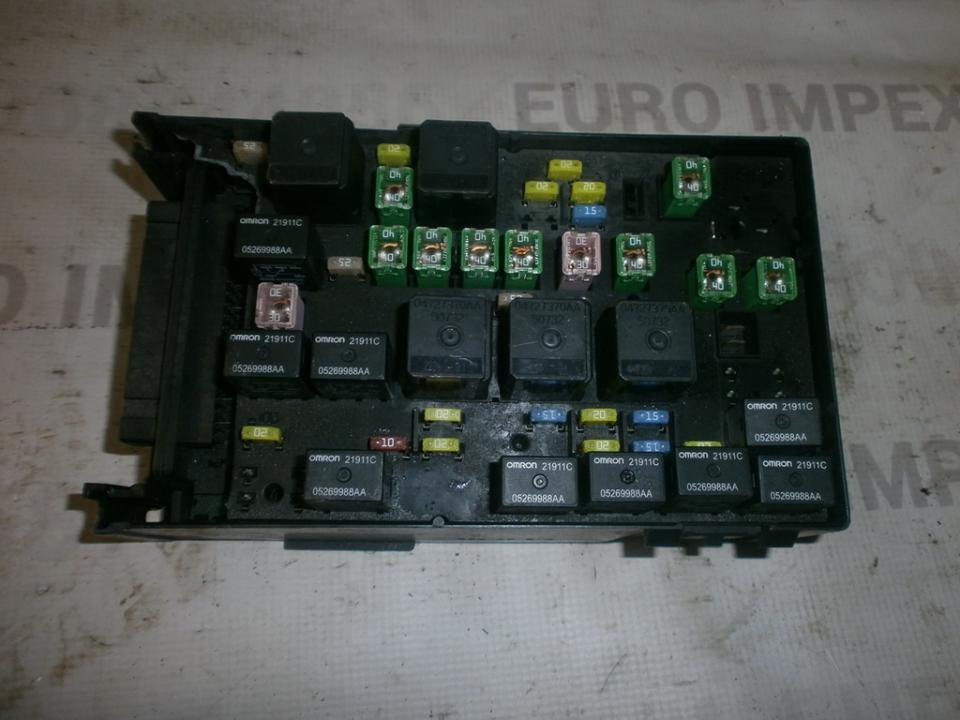 Saugikliu deze p05144509ac  Chrysler VOYAGER 2001 2.5