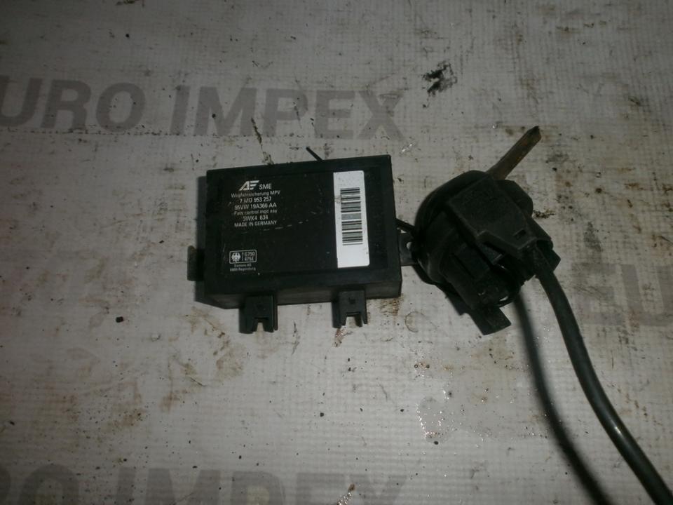 Imobilaizerio kompiuteris 7M0953257 95VW19A366AA Ford GALAXY 1997 2.8