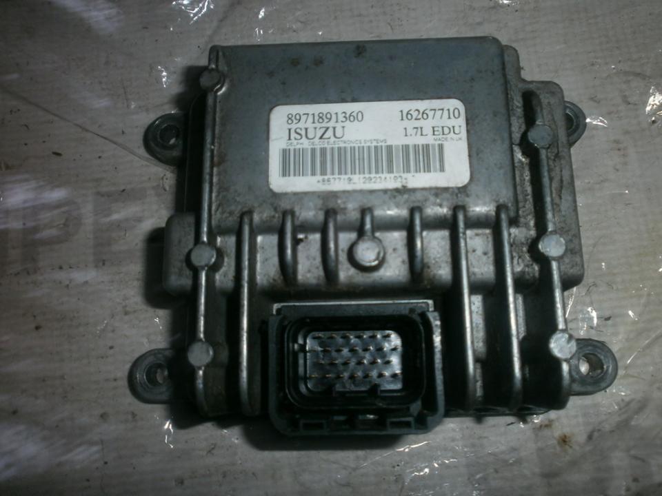 Variklio kompiuteris 8971891360 16267710 , 8971891361  Opel COMBO 1994 1.7