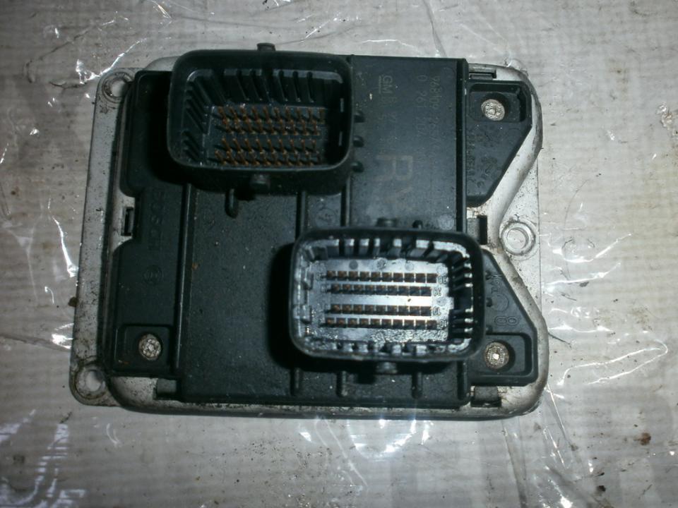 Блок управления двигателем 0261204058 90532609ry , 0261204475 ,  Opel CORSA 1998 1.0