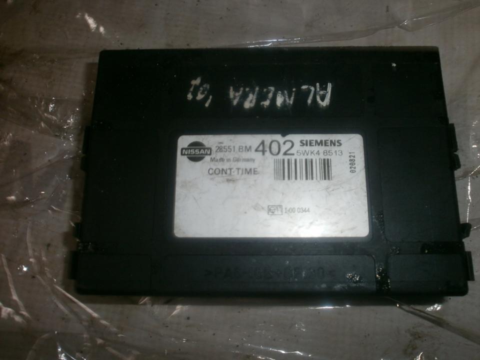 Komforto blokas 28551bm402 5wk48513 Nissan ALMERA 2003 1.5