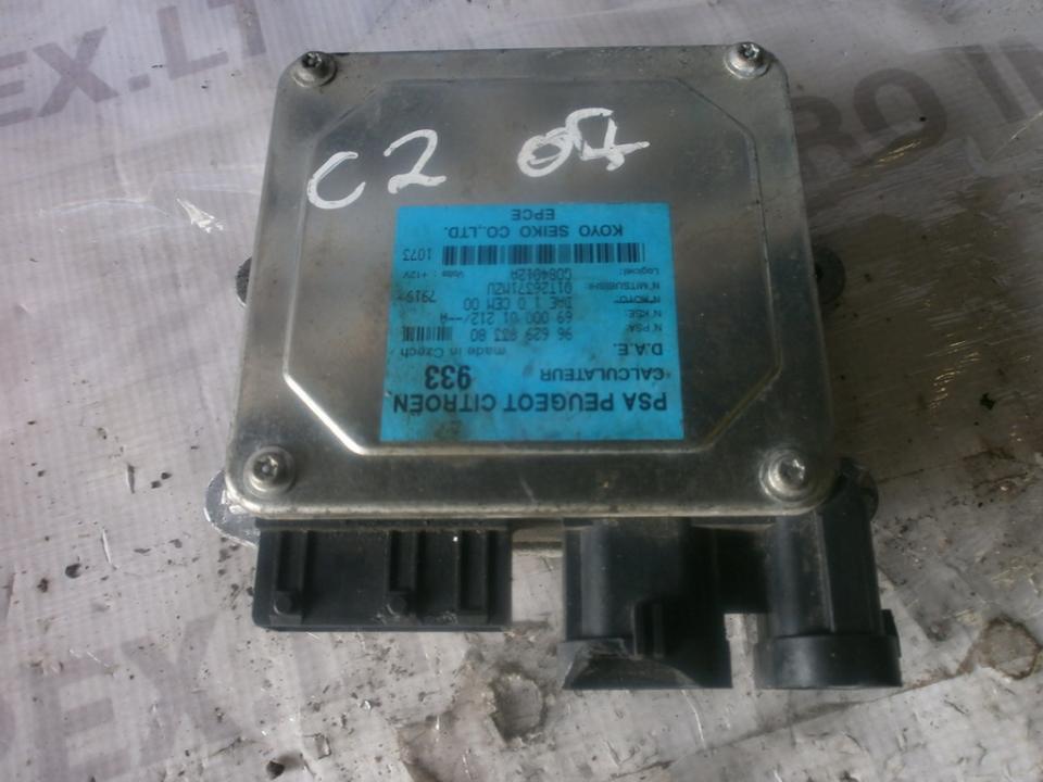 9662993380 Kiti kompiuteriai Citroen C2 2007 1.4L 43EUR EIS00008514