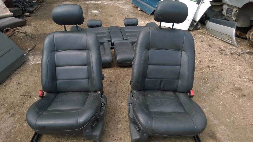Car leather upholstery Renault  Safrane, 1992.04 - 1996.07