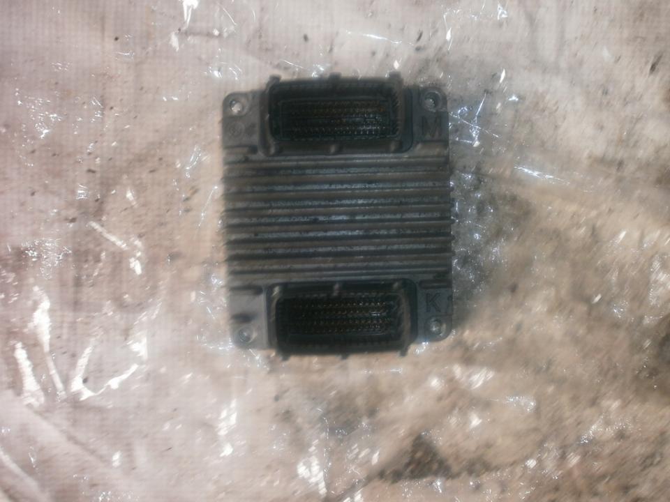 Блок управления двигателем 12212819 8973065750 Opel ASTRA 1994 1.7