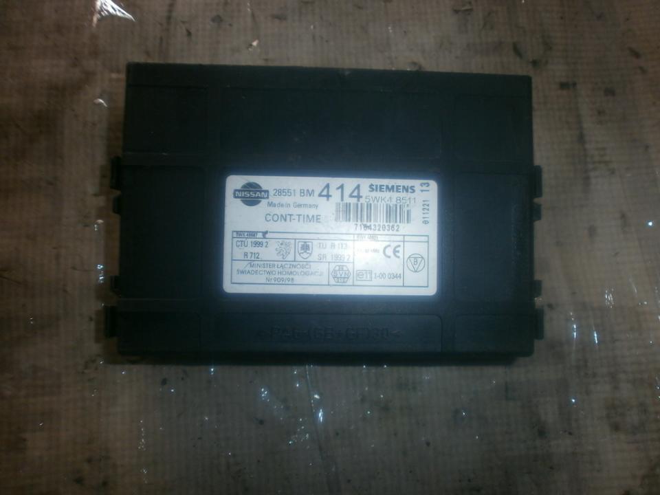 Kiti kompiuteriai 5wk48511 28551bm Nissan ALMERA 2000 2.0
