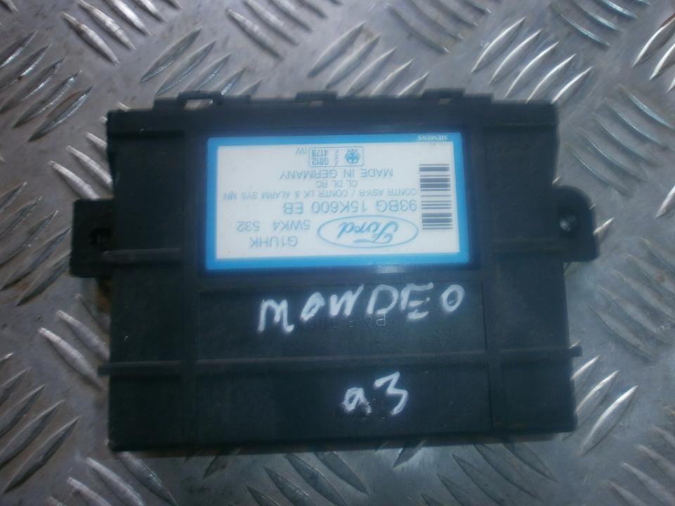 93bg15k600eb 5wk4532 Kiti kompiuteriai Ford Mondeo 1993 2.0L 23EUR EIS00011572