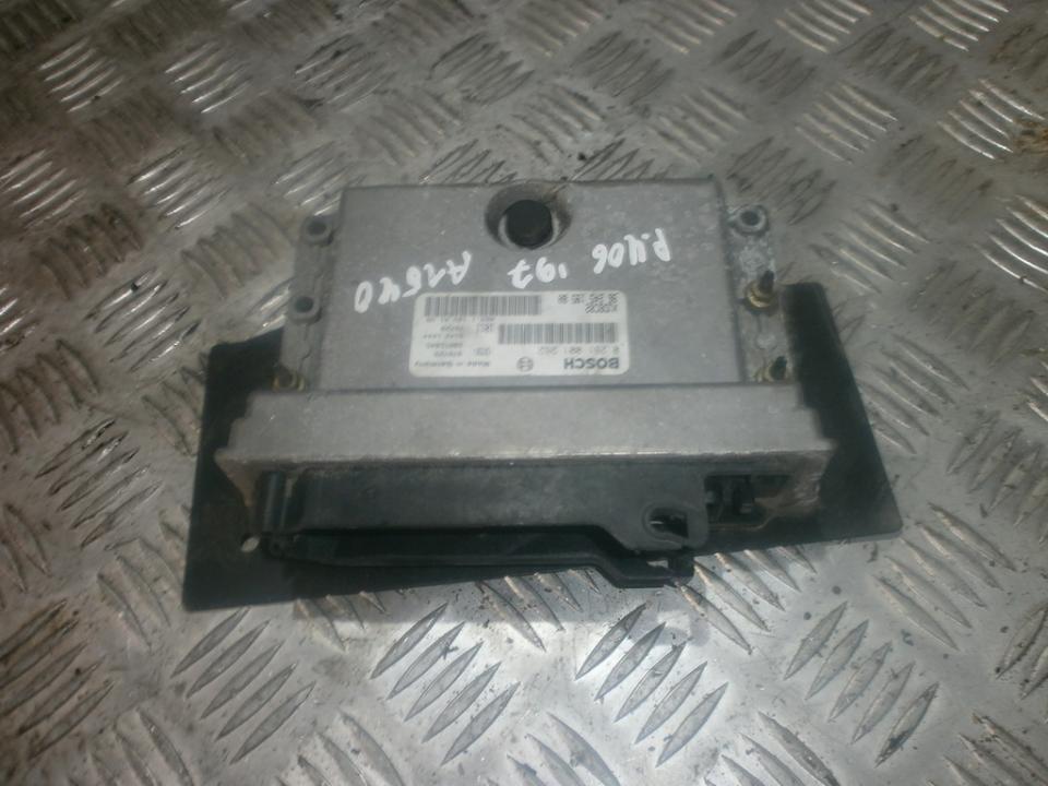 Variklio kompiuteris 0281001262 XUDBC02, 28RTD845, 9624519580 Peugeot 406 1998 2.1