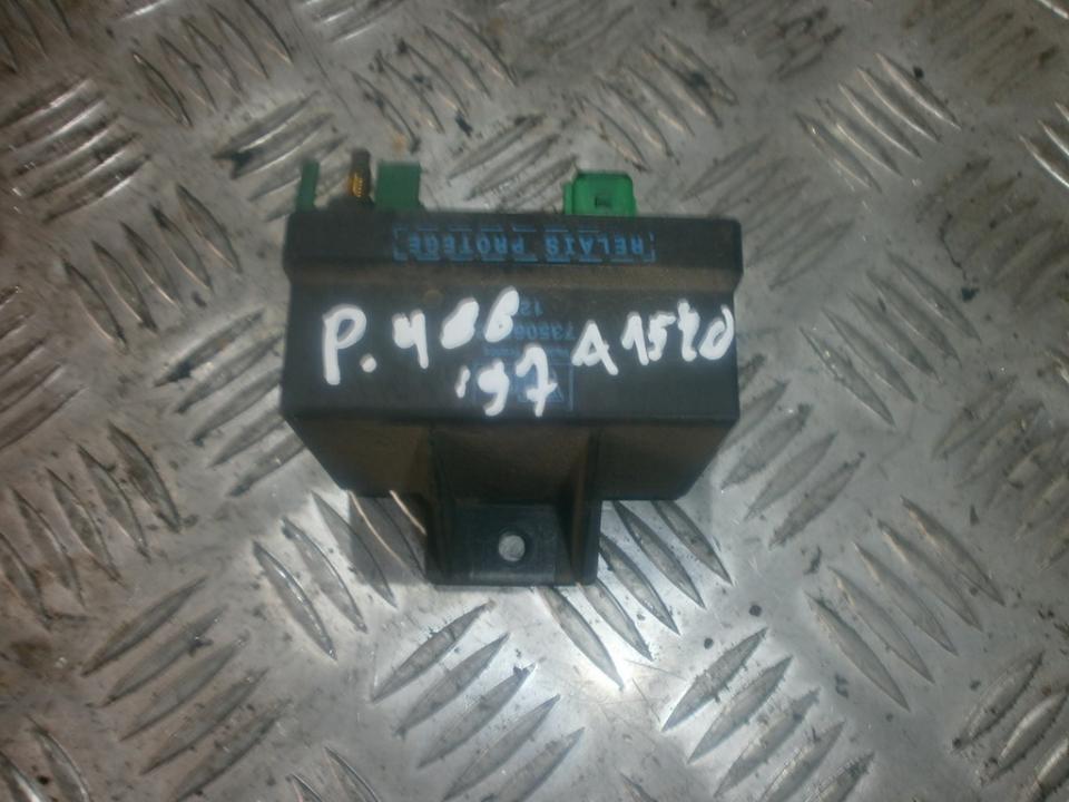 Zvakiu Pakaitinimo rele NENUSTATYTA  Peugeot 406 1997 2.0