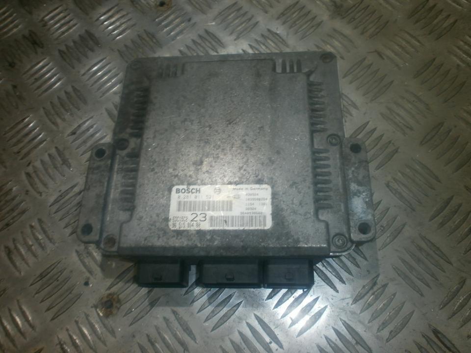 ECU Engine Computer (Engine Control Unit) 0281011521  Citroen XSARA PICASSO 2003 1.8