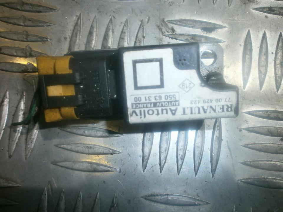 Srs Airbag daviklis 550633100  Renault MEGANE SCENIC 1997 1.6