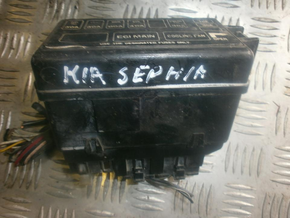 fuse box kia sephia 1992 - 1997