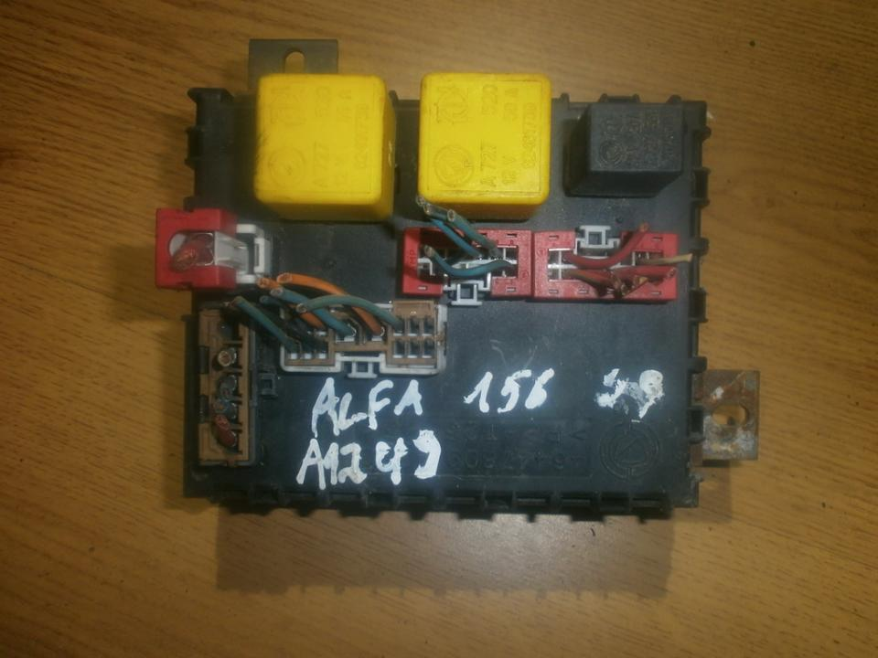46447809 fuse box alfa-romeo 156 1999 1 9l 27eur eis00016735