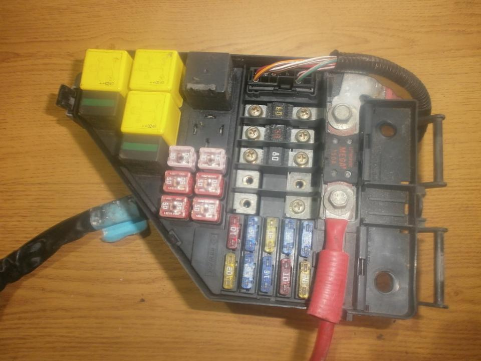 fuse box rover 45 2002 2 5l 29eur eis00017012