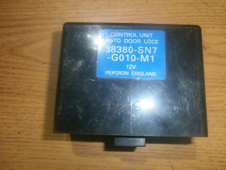 Electric window control unit Honda Civic 1994    1.6 38380sn7g010m1