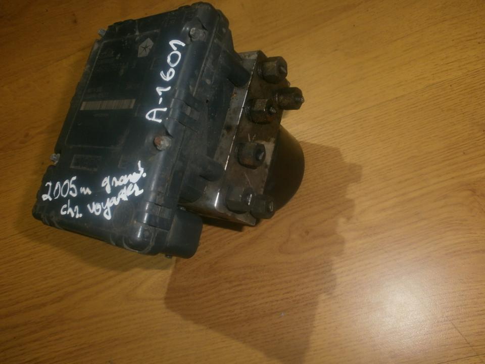 ABS blokas 04686987AAB 25094602433, 346124 Chrysler VOYAGER 1998 2.5
