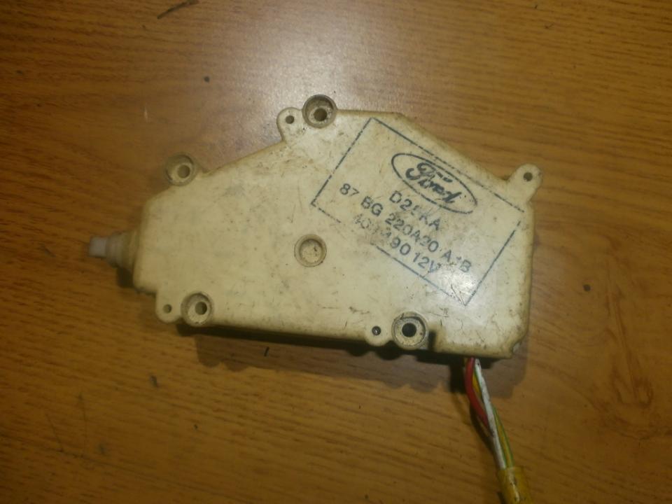 Centrinio duru uzrakto varikliukas 87bg220a20  Ford FIESTA 2006 1.3
