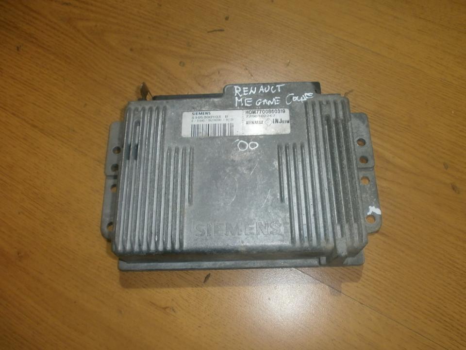 Variklio kompiuteris hom7700860319 s105300103b Renault MEGANE 1998 1.6