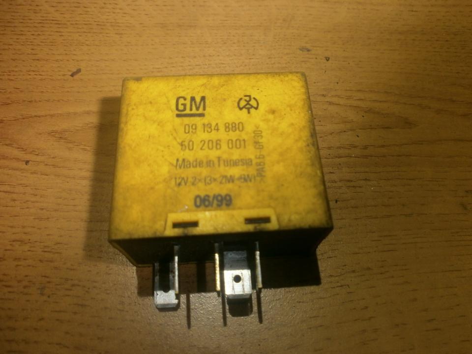gm09134880 60206001 Relay module Opel Vectra 1999 2.0L 9EUR EIS00020104