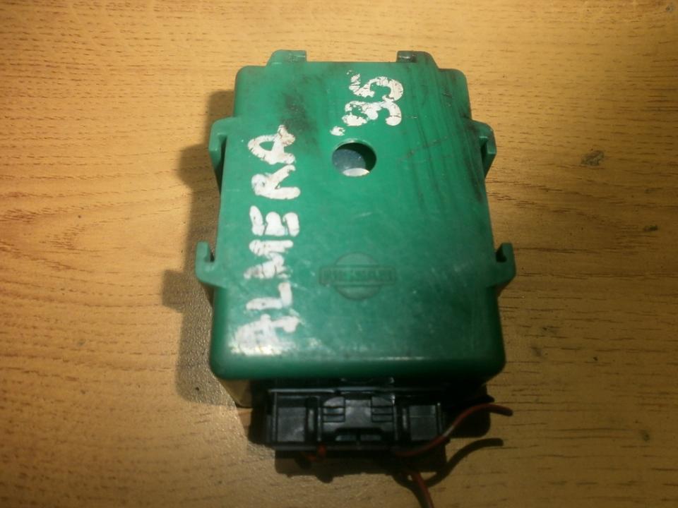 Kiti kompiuteriai NENUSTATYTA  Nissan ALMERA 2001 1.5