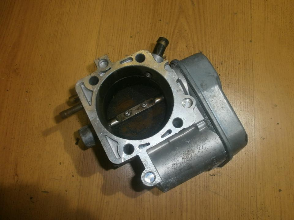 Заслонка дроссельная электрическая 5WS91703 09218518 Opel VECTRA 1997 2.0