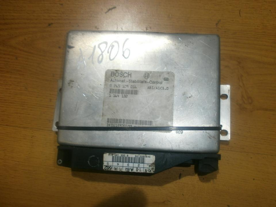 0265109016 1164132 ABS Computer BMW 5-Series 1998 2.5L 29EUR EIS00020730