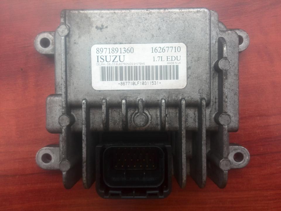 Kiti kompiuteriai 8971891360 16267710 Opel ASTRA 1998 1.7