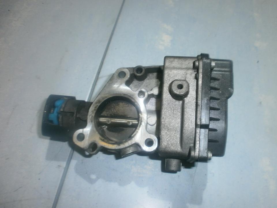 Заслонка дроссельная электрическая 8200243886 turbo Renault ESPACE 1990 2.1