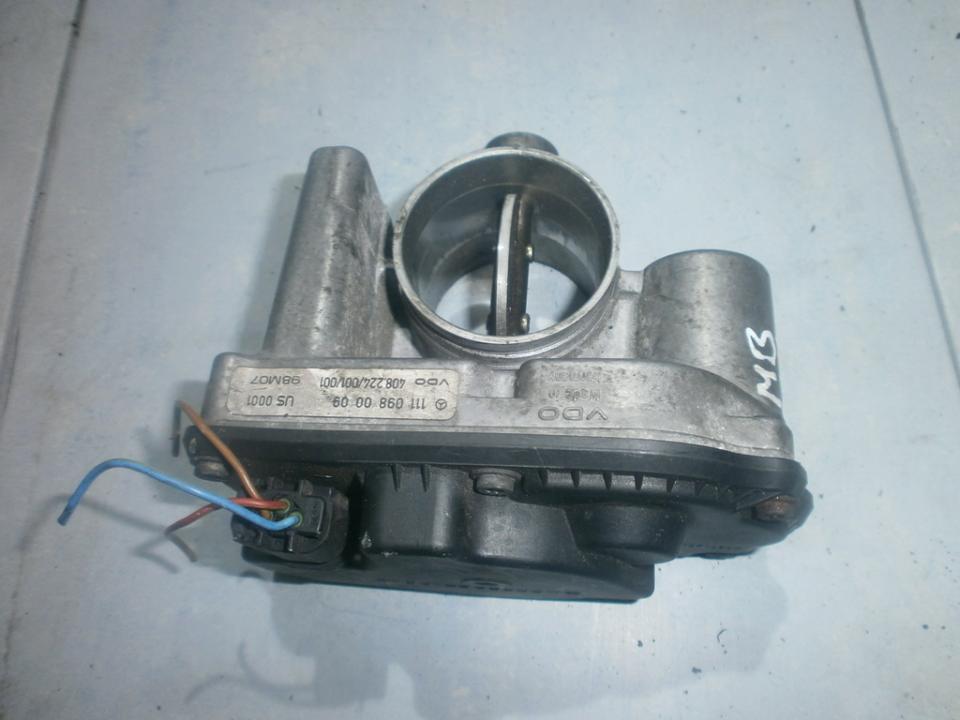 High Flow Throttle Body Valve (Air Control Valve) 1110980009 408224001001 Mercedes-Benz CLK-CLASS 2005 2.7