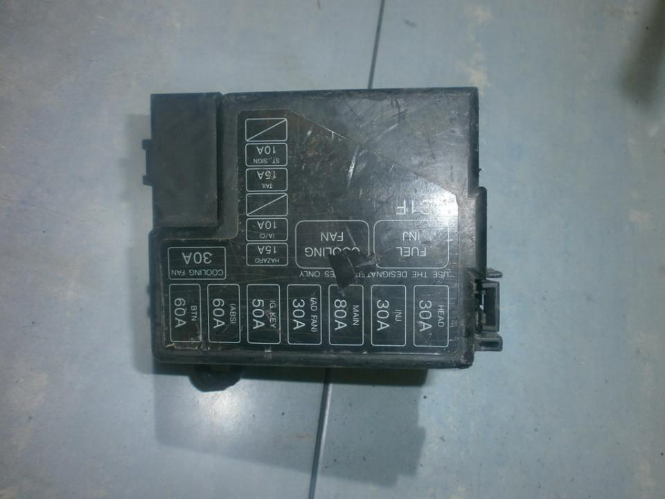 72543033 fuse box mazda 323 1995 1 5l 23eur eis00023050 used parts shop