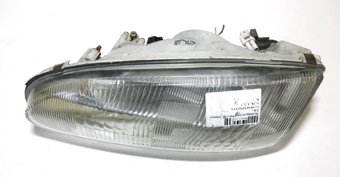 Front Headlight Left LH NENUSTATYTA  Hyundai ACCENT 1997 1.5