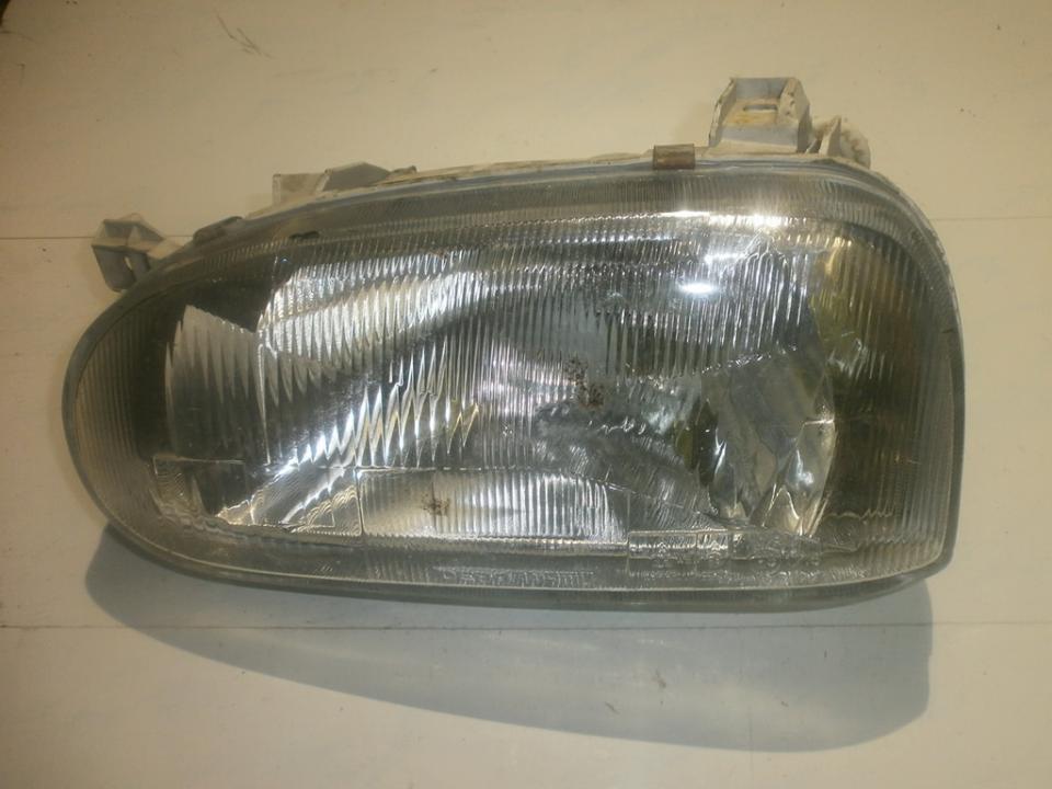 Front Headlight Left LH 4411111l  Volkswagen GOLF 1999 1.9