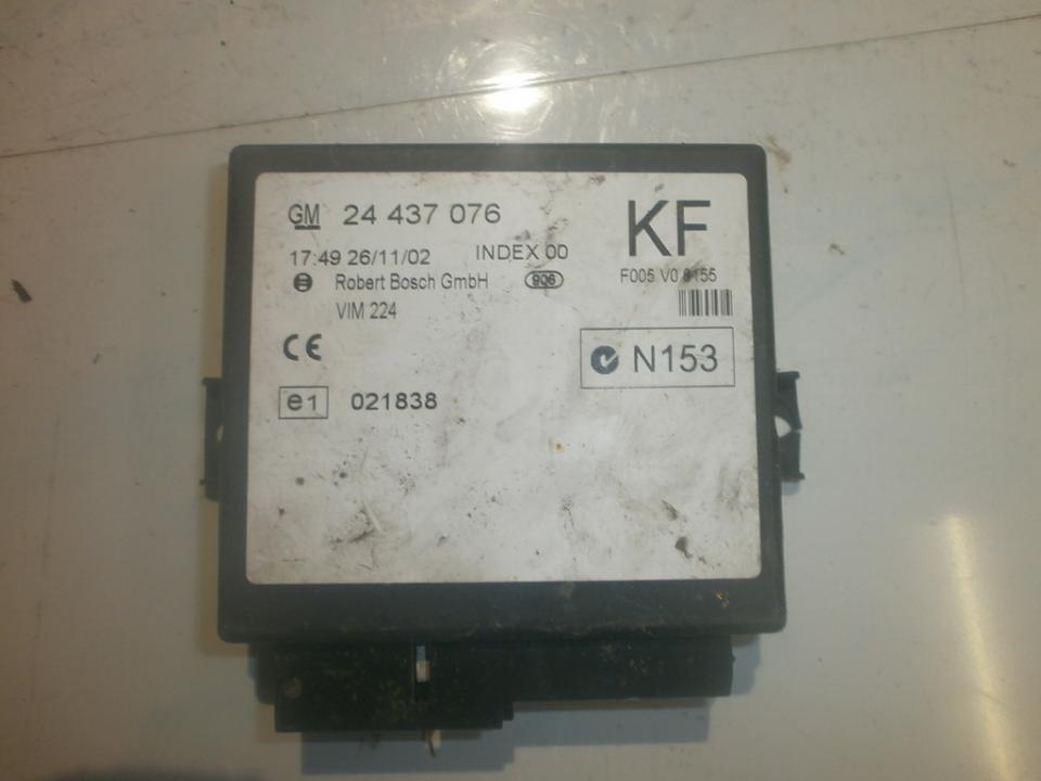 Kiti kompiuteriai 24437076kf f005v00155 Opel ASTRA 2009 1.7
