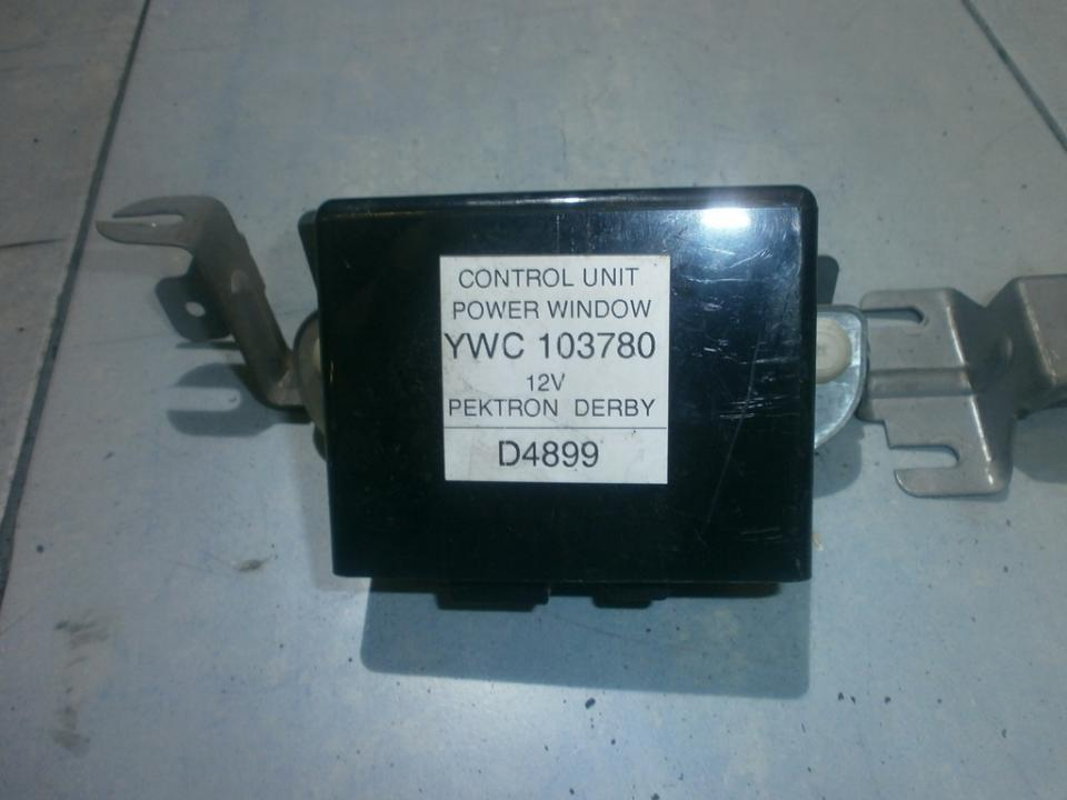 Electric window control unit Rover 25 2002    1.6 ywc103780