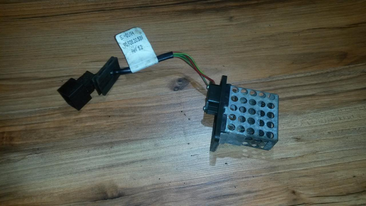 9092820539 Heater Resistor Blower Motor Mercedes The And Wiring To Components Benz C Class 1995