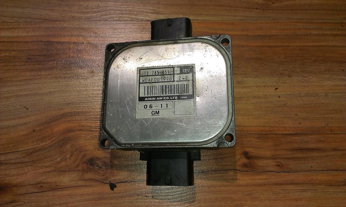 Greiciu dezes kompiuteris 12785051 waef001998 SAAB 9-3 2001 2.2
