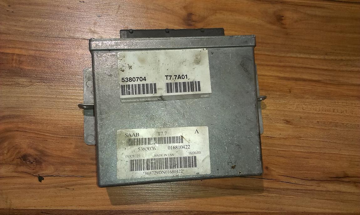 Variklio kompiuteris t77a01 5380704, 5380076, 016810422 SAAB 9-5 1998 2.0