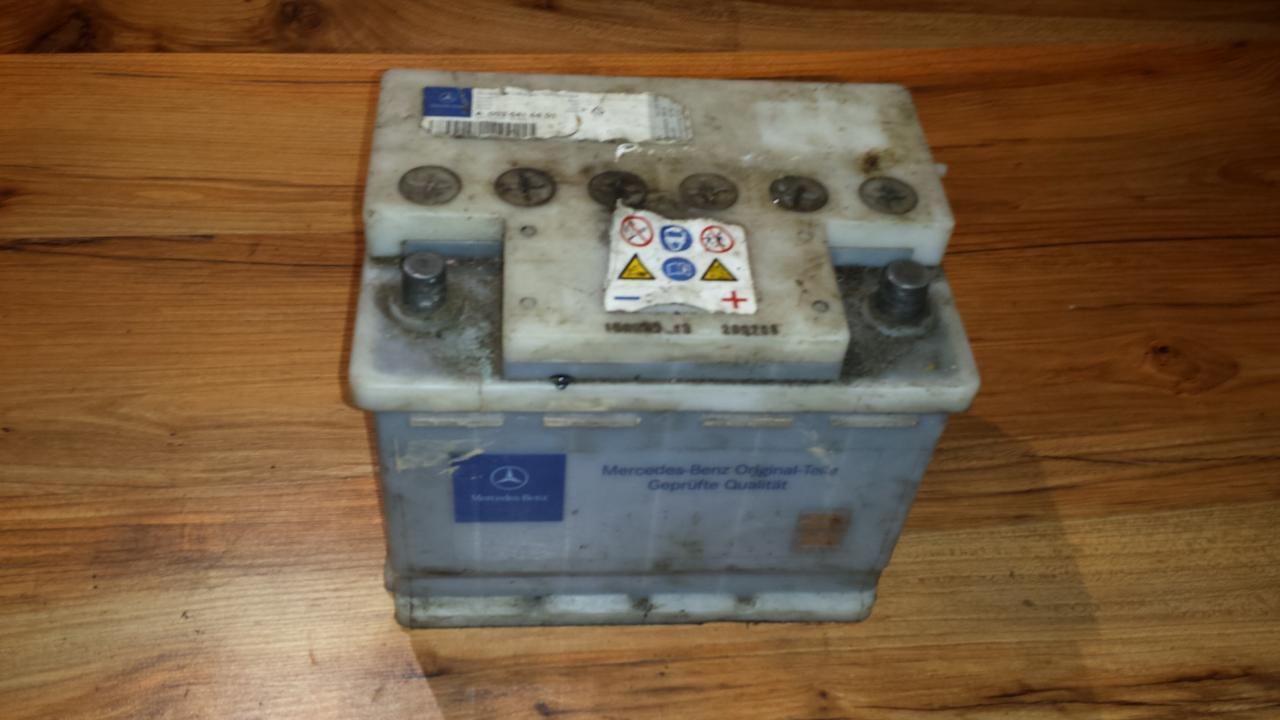 Baterija - Akumuliatorius MERCEDES-BENZ 12V, 480A, 62Ah, A003 541 66 01 Mercedes-Benz VITO 2003 2.2