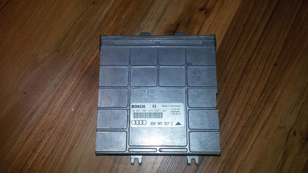 Variklio kompiuteris 0261203938939 8D0907557C Audi A4 1996 1.6