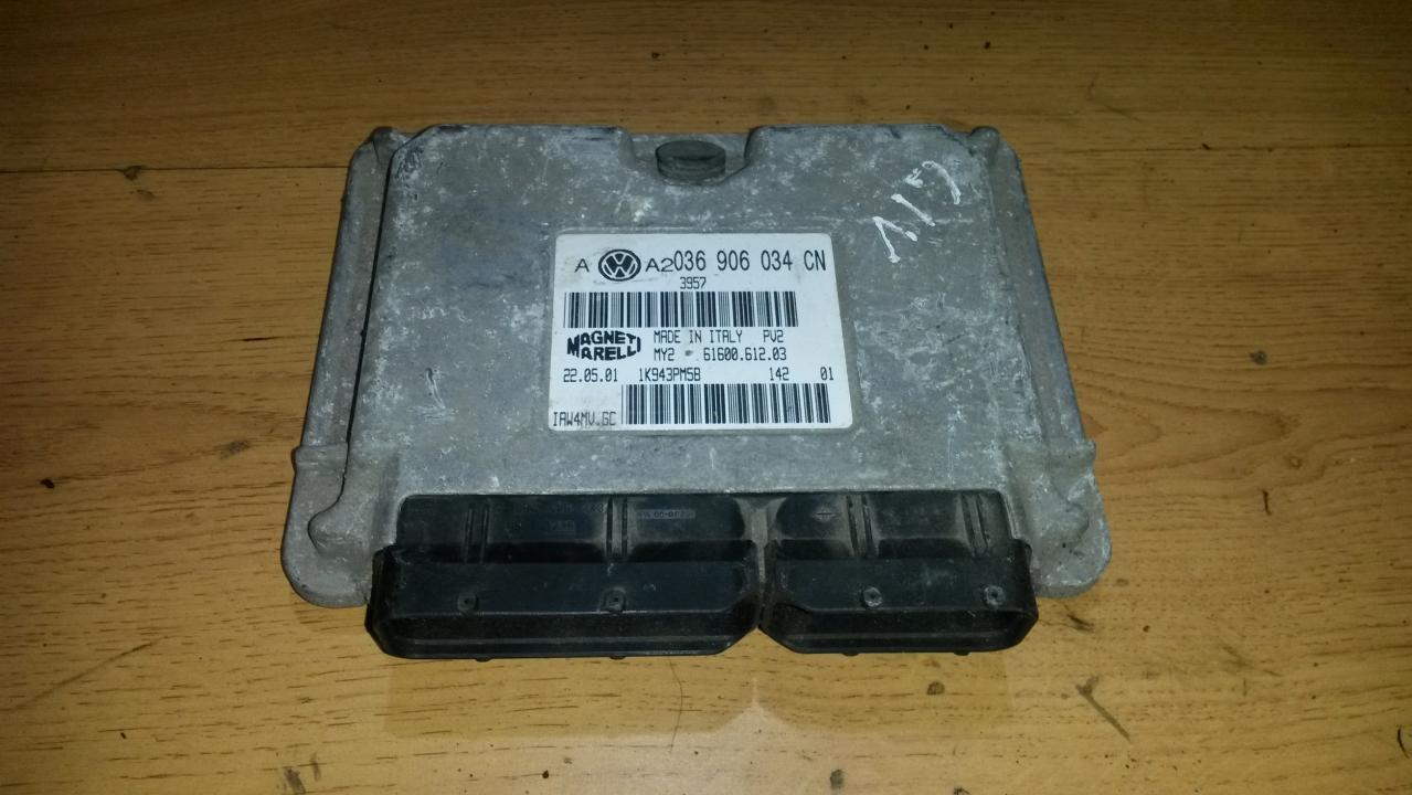 Variklio kompiuteris 036906034cn  Volkswagen GOLF 1999 1.9