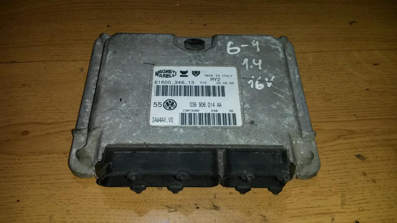 Variklio kompiuteris 036906014aa 0261207190 Volkswagen GOLF 2005 1.6