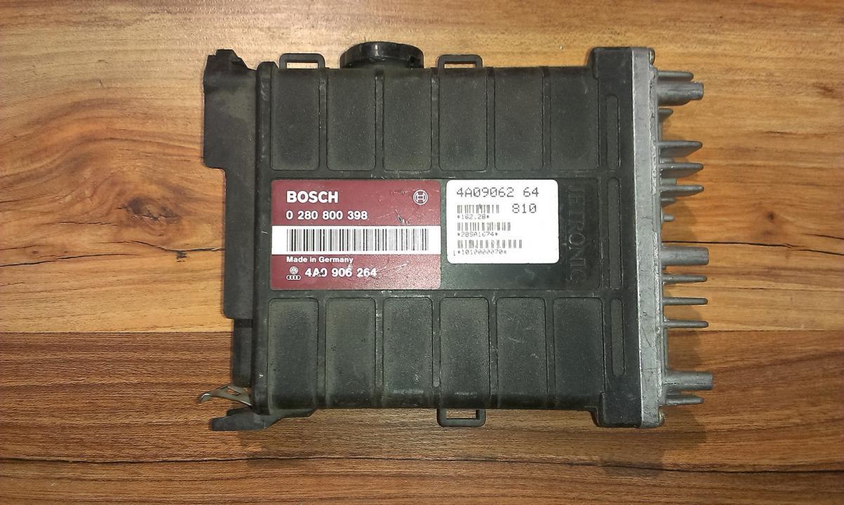 ECU Engine Computer (Engine Control Unit) 0280800398 4A0906264 Audi 80 1992 2.0